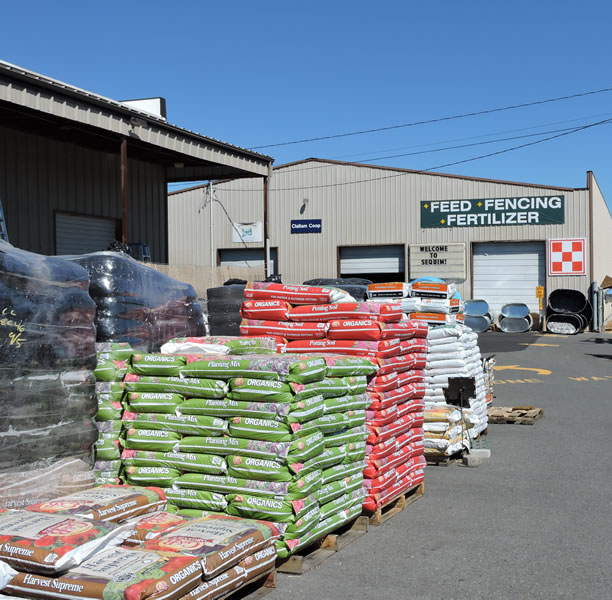The Clallam Co-Op Feed Building