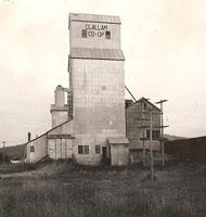 Co-Op grainery tower - original buildings